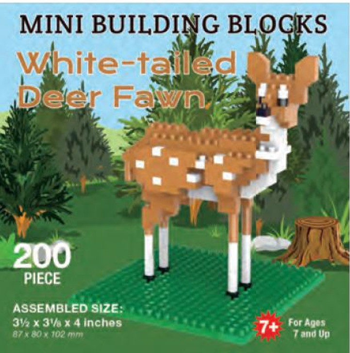 Mini-Building Blocks - White-Tailed Deer Fawn*