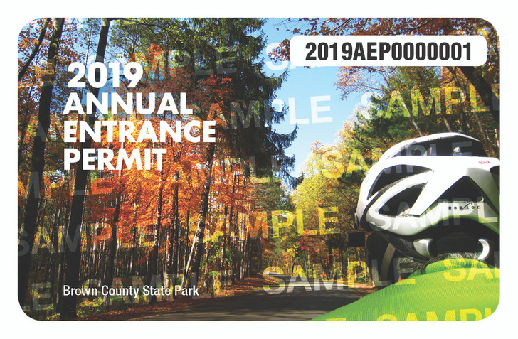 2019 Annual Entrance Permit. Valid January 1, 2019-December 31, 2019.
