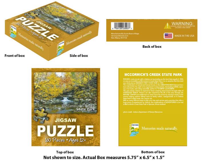 McCormick's Creek State Park Puzzle