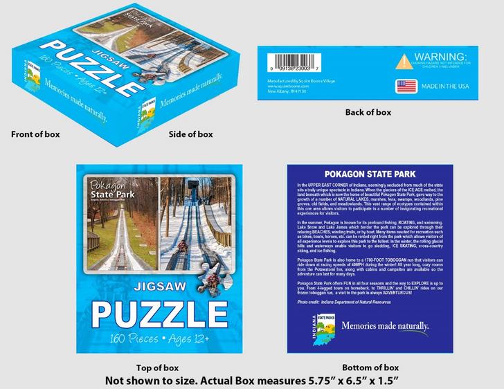 Pokagon State Park Puzzle