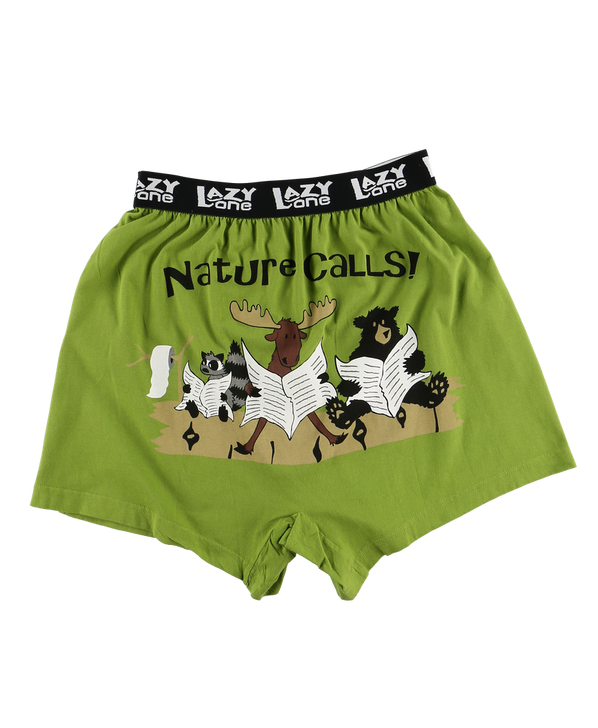 Back of boxers