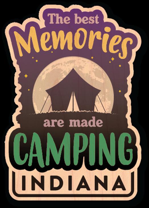 Best Memories Wood Sticker -Color*