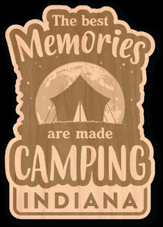 Best Memories Wood Sticker-Natural*