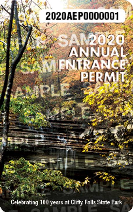 2020 Annual Entrance Permit