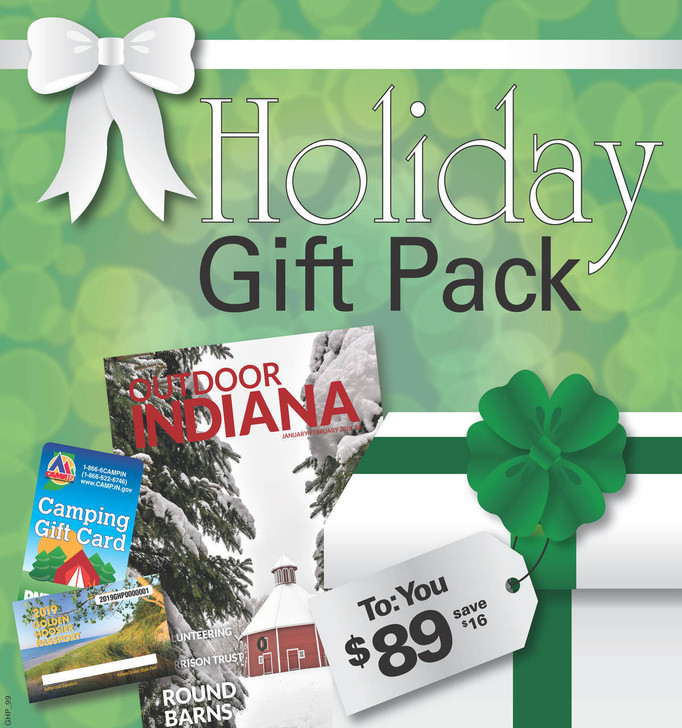 Your camp pack includes: a 2020 SSDI Passport, a $100 camp gift card, and a 1 year subscription to the Outdoor Indiana Magazine.