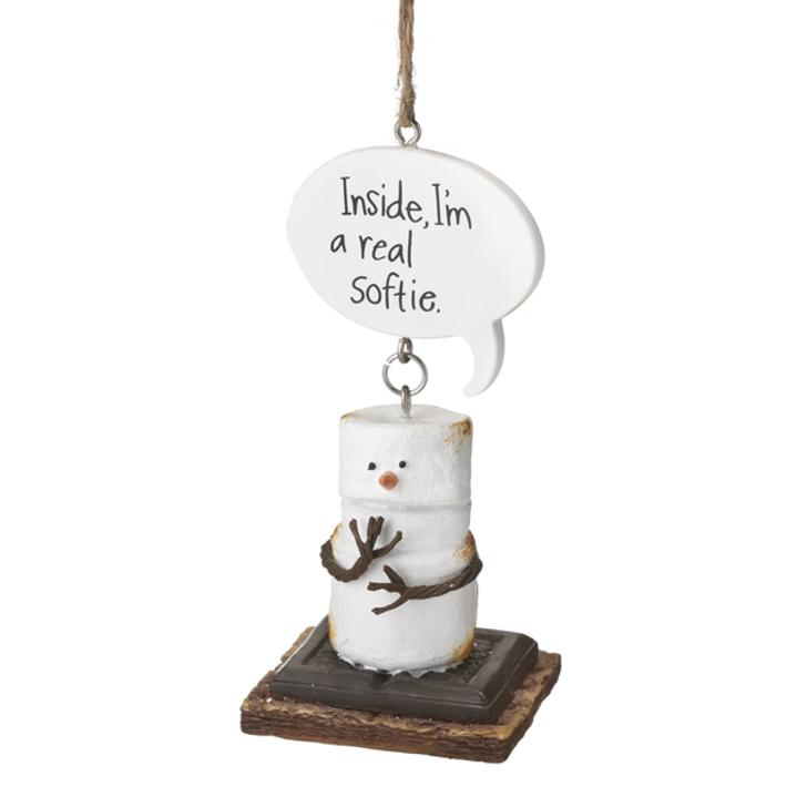 S'moresSoftie  Ornament*