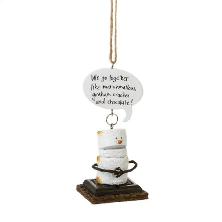 S'mores We go Together Ornament*