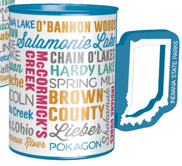 IN handle state park mug*