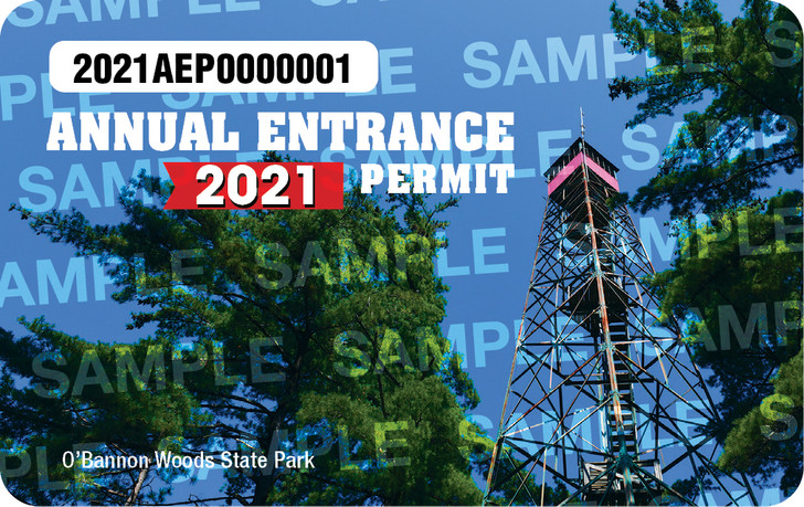 2021 Annual Entrance Pass. Valid January 1, 2021 to December 31. 2021.