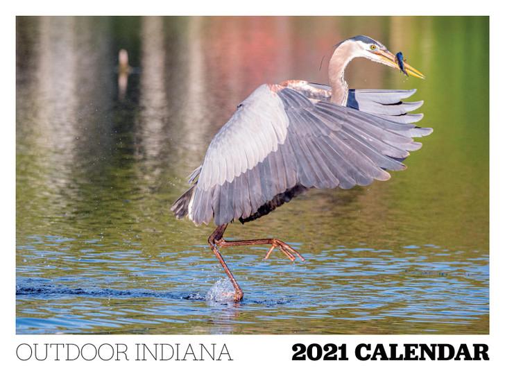 2021 Outdoor Indiana Calendar