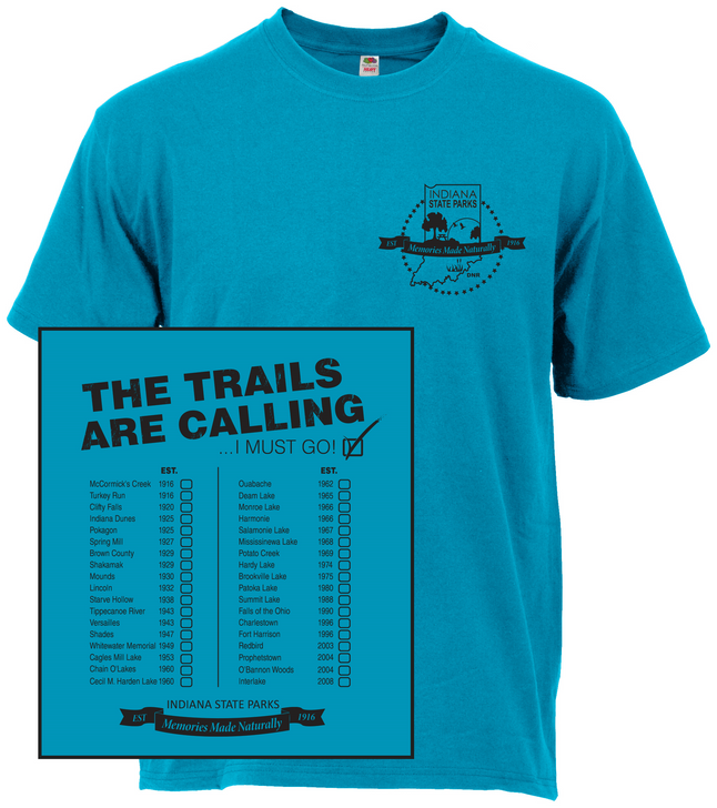 The Trails are Calling CALI T-Shirt*