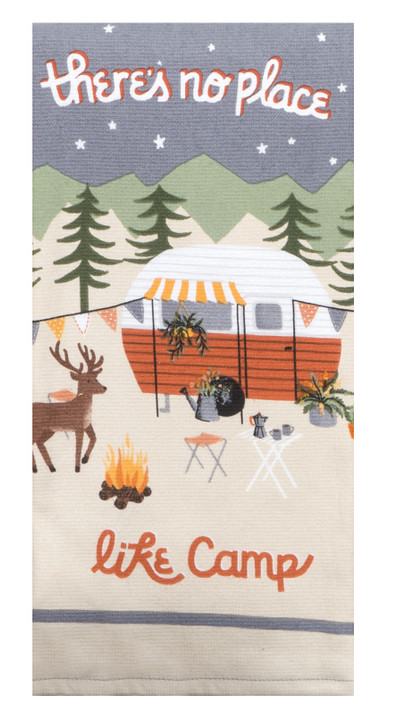 There's no place like camp. Winter.Towel*