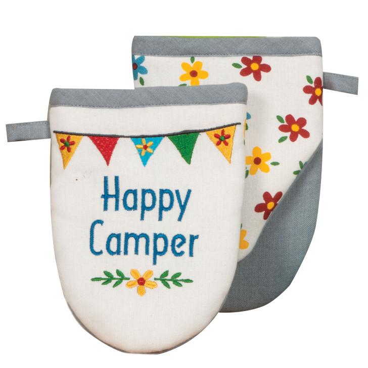 Happy Camper Grabber Mitt*