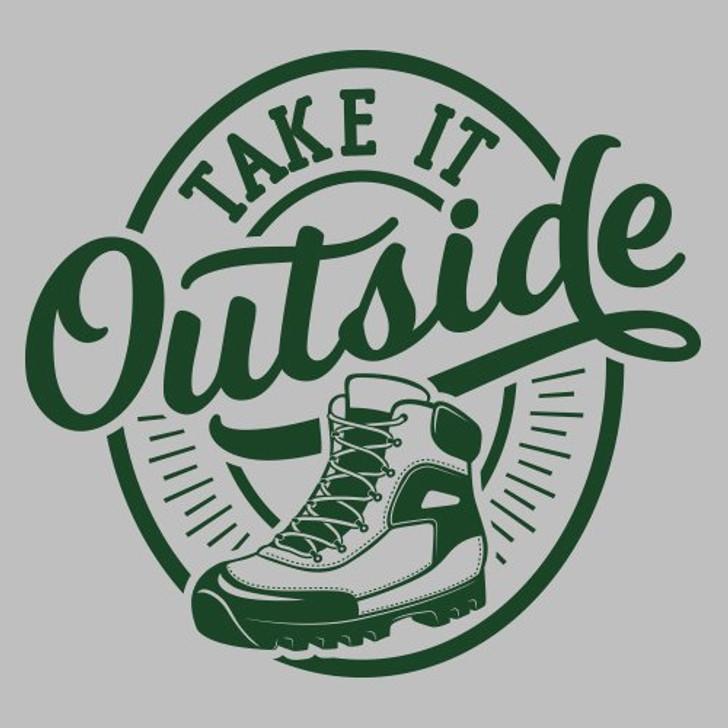 Take it Outside HIKE 3/4 sleeve T-Shirt*