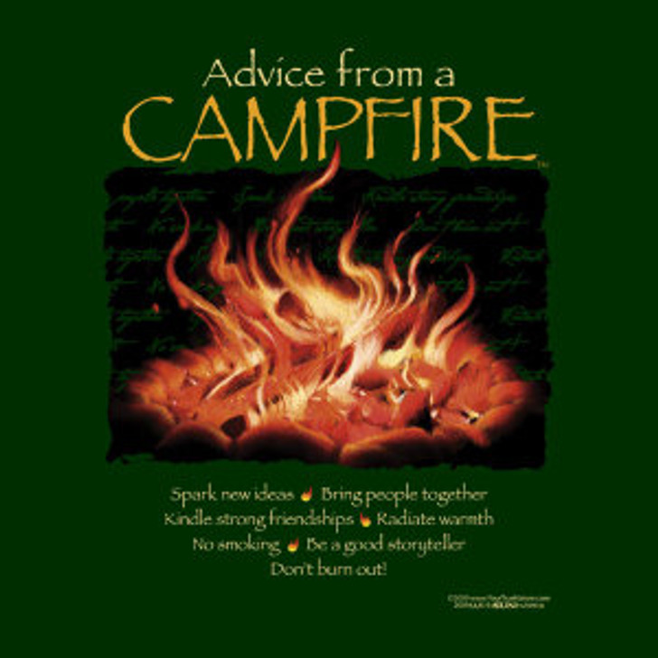 Advice from a Campfire t-shirt*