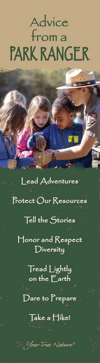 Advice from a Park Ranger Bookmark*