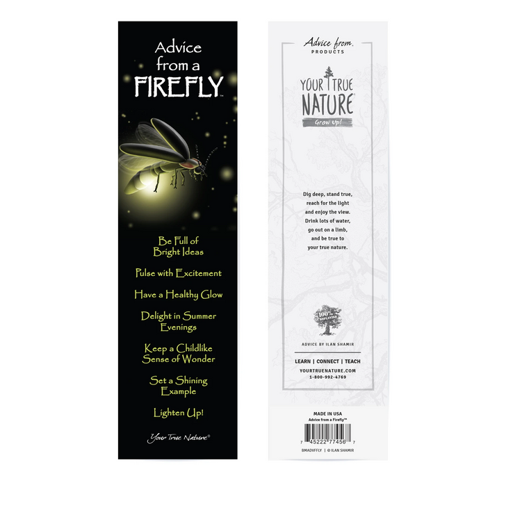 Advice from a Firefly Bookmark*