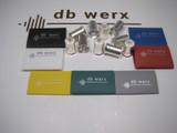 db werx 1/0 Wire Ferrules w/Heat Shrink Pk/10