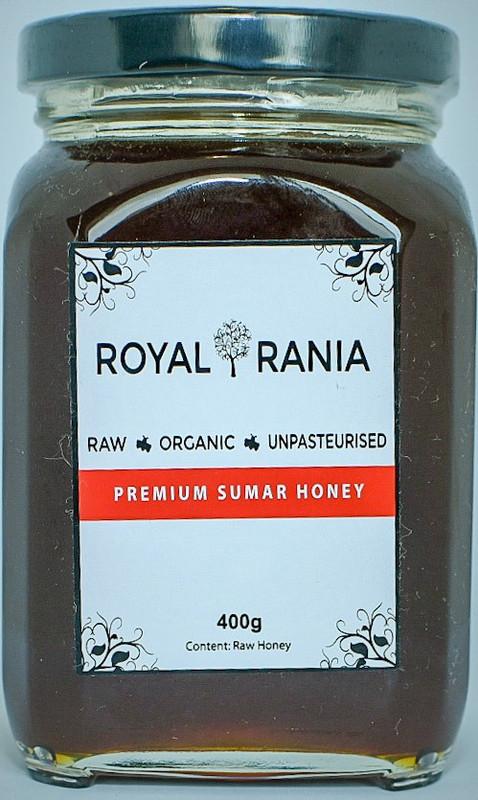 Flower: Sumar (desert acacia) Grade: AAA Season: All Seasons Colour: Dark Caramel Taste: Caramelised sugar taste with rich body and thick viscosity