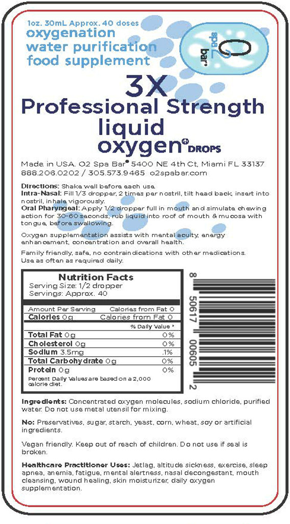 Liquid Oxygen Concentrate