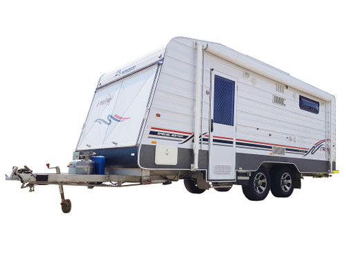 Willis - 6 Person Windsor Rapid Caravan