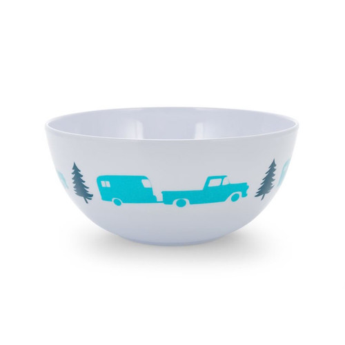 Camco Melamine Bowl Trailer/Tree Pattern
