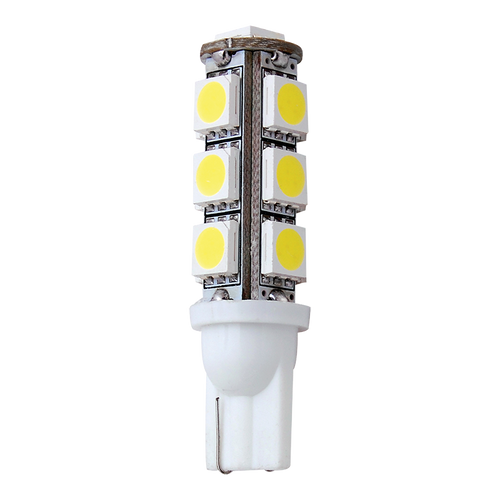 LED T10 Wedge Replacement Bulb Cool White 1.76W