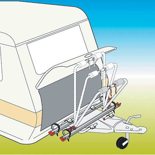 Fiamma Carry Bike Caravan XL A (2 Bikes)