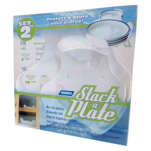 Camco Stack A Plate White