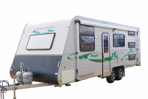 Colossus - 5 Person Coromal Caravan