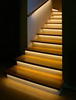 Add stair safety at night with a modern touch!