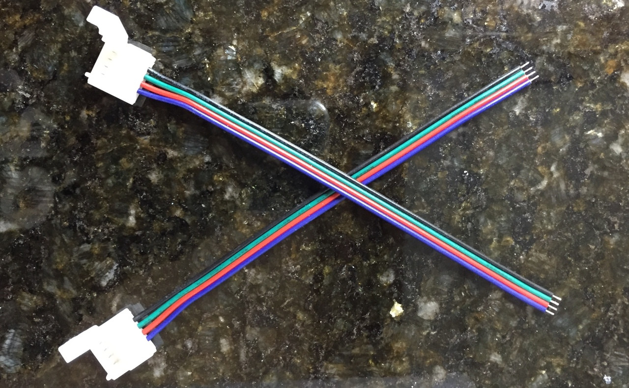 10 pack Single End Connection RGB Wire