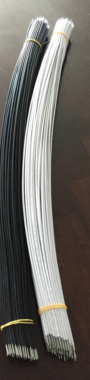 100 pair Tombstone Wire 18 Gauge Pre-Stripped
