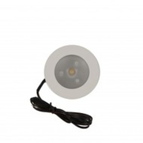 LED cabinet lights for indoor cabinets or accent lighting using extra low voltage wiring.