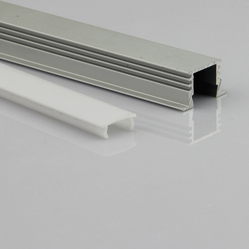 "3 Meter (9'10"") LED Aluminum Profile- 22mm W x 12 mm H"