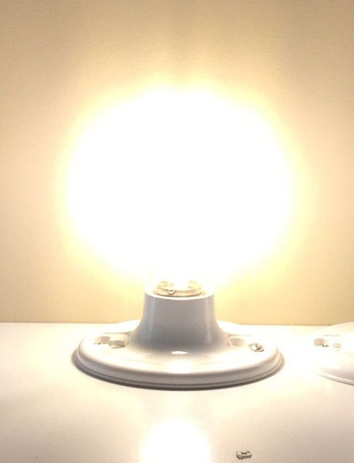 AMPERE 24VDC, A19, 8W Warm White LED Edison Bulb