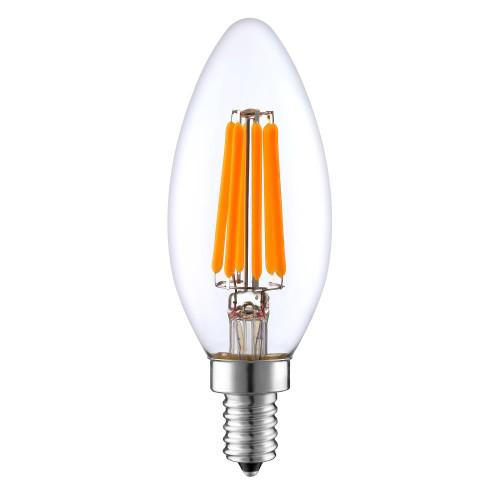 IES Distributors' C35 6W LED filament bulb