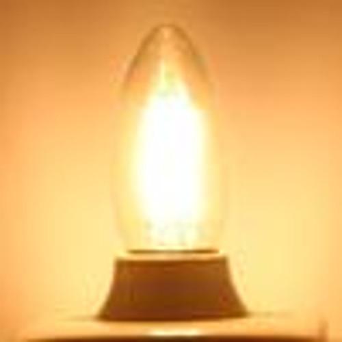 6W C35 Warm White LED Edison Bulb