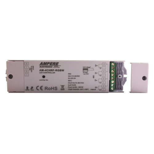 4 Channel Constant Voltage Controller for CCT or RGB/W Dimming and Adjustment. One receiver can be paired with max 8 remote controls. If you use multiple receivers, you have two choices.