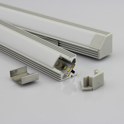 "`- housing for flexible or hard LED strips that are 8-10mm wide (0.39"") - lighting or illumination of certain areas (stream of light may vary depending on the power of applied LEDs) - all types of grooves, inputs or surface edges - indoor and outdoor (profile is not waterproof, not to be applied if directly exposed to weather conditions)"