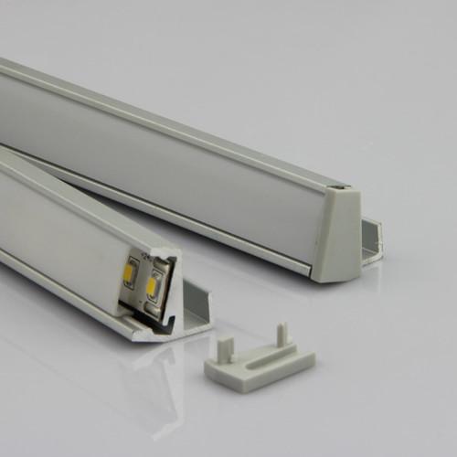 3 Meter Aluminum Extrusion for 8mm Glass Shelf