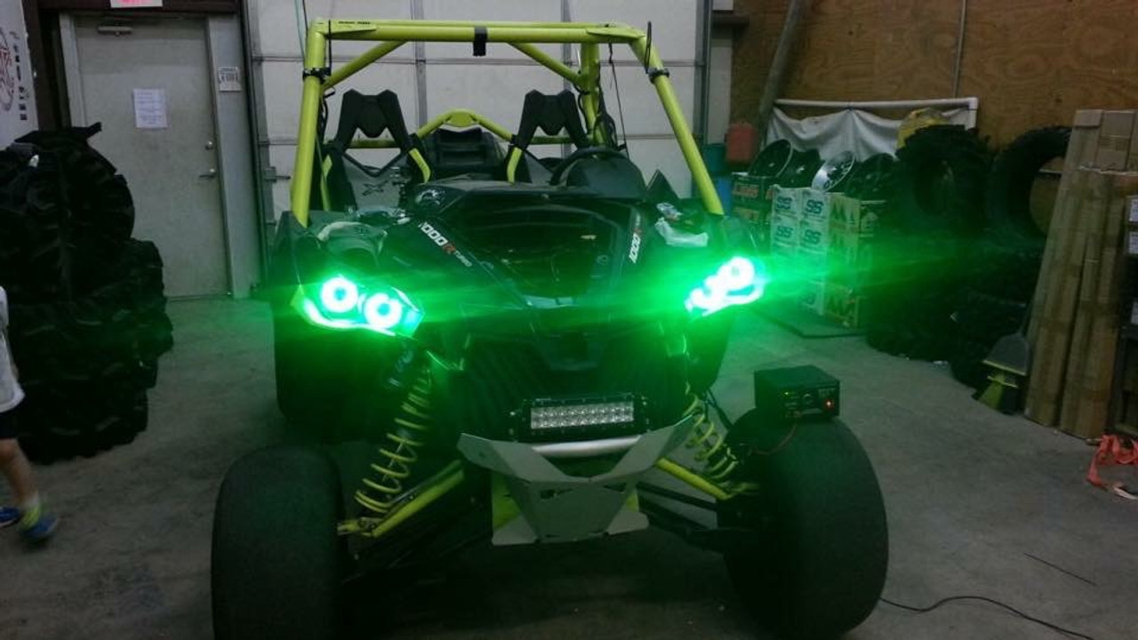 Green Halos on a Turbo Maverick