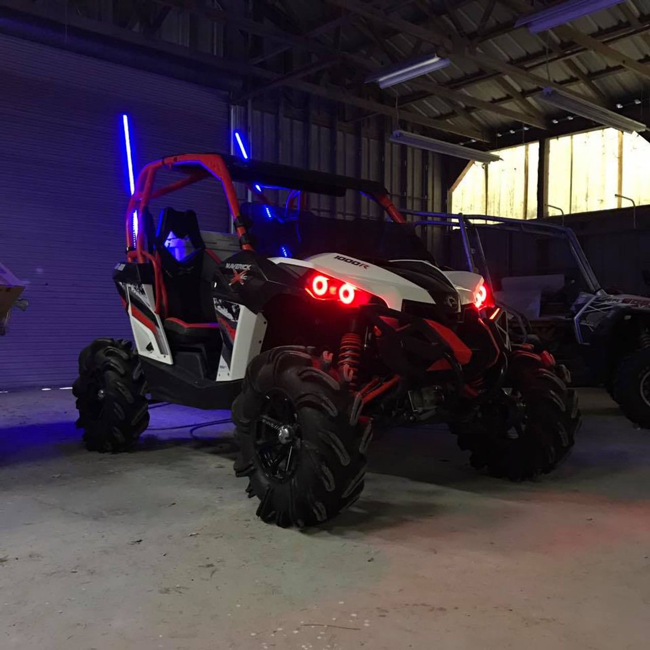 R&R LED Lighting Can-am Halo Kit (Maverick, Commander, Renegade)
