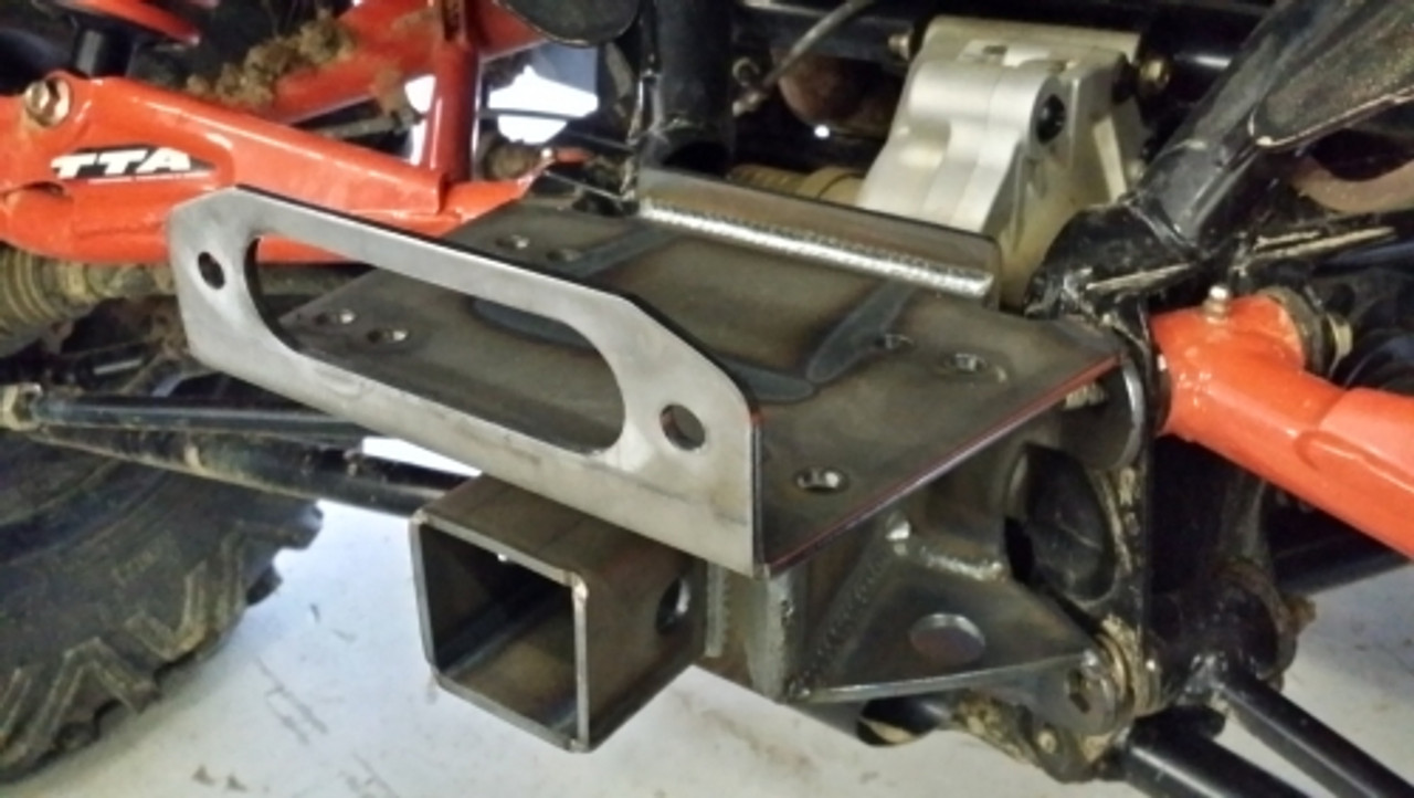 CT REAR WINCH MOUNT WITH RECEIVER