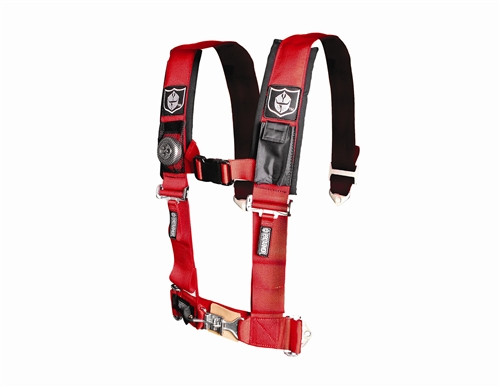 """Pro Armor  4 Point 3"""" Harness w/ Sewn in Pads"""
