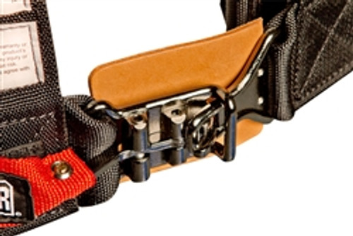 "Pro Armor Special Edition All Black Hardware 5pt harness w/3"" Pads Sewn Together SFI T&P"