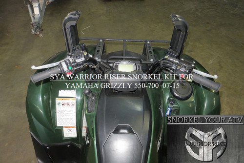 SYA WARRIOR RISER SNORKEL KIT FOR 2007-2015 GRIZZLY 550-700