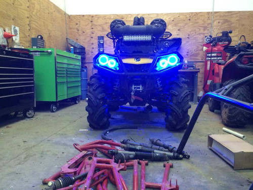 R&R LED LIGHTING HALO KIT FOR CAN AM  OUTLANDER G2 & G2 XMR'S (2013 - 2018)
