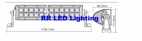 RR XTM 41.5 Inch 240W LED Light Bar (19200 Lumens)