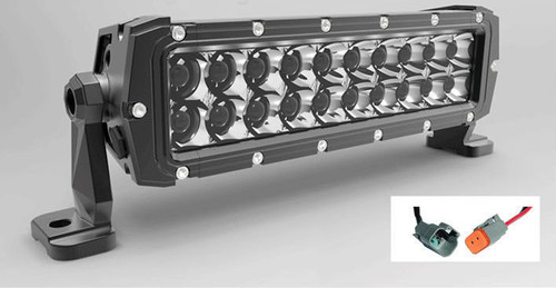 R&R Military Grade Dual Row 10 Inch Cree Light Bar